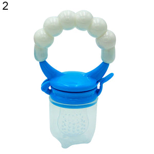 Portable Silicone Baby Toddler Fruit Food Feeder Teether Pacifier Feeding Tool - shopbabyitems