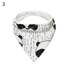 Load image into Gallery viewer, Kids Baby Feeding Head Scarf Towel Bib Boy Girl Bandana Saliva Triangle Towel - shopbabyitems