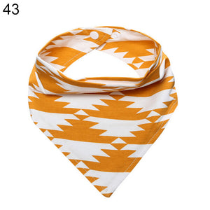 Kids Baby Feeding Head Scarf Towel Bib Boy Girl Bandana Saliva Triangle Towel - shopbabyitems