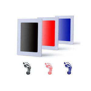 Newborn Baby Handprint Fingerprint Footprint Clean-Touch Non-Toxic Ink Pad - shopbabyitems
