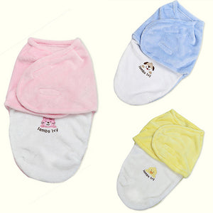 Baby Products Swaddle Soft Warm Envelope for Newborn Blanket Fleece Sleeping Bag - shopbabyitems