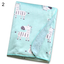 Load image into Gallery viewer, Double Layer Soft Newborn Baby Receiving Blankets Swaddle Wrap Bedding Bedsheet - shopbabyitems