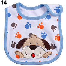 Load image into Gallery viewer, Newborn Toddler Infant Baby Boy Girl Kids Cartoon Bibs Waterproof Saliva Towel - shopbabyitems
