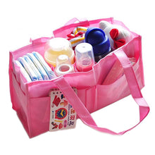Load image into Gallery viewer, Multi-pocket Baby Diaper Nappy Mother Bag Portable Non-woven Fabric Handbag - shopbabyitems
