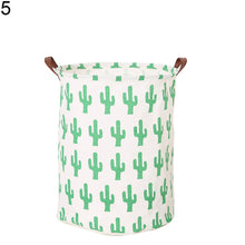 Load image into Gallery viewer, Baby Kids Toy Clothes Storage Canvas Nordic Style Laundry Basket Organizer Tool - shopbabyitems