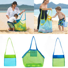 Load image into Gallery viewer, Baby Children Beach Sand Toys Mesh Bag Clothes Towel Collection Storage Tool - shopbabyitems