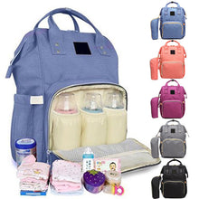 Load image into Gallery viewer, Mummy Dad Maternity Nappy Diaper Bag Baby Nursing Large Capacity Travel Backpack - shopbabyitems
