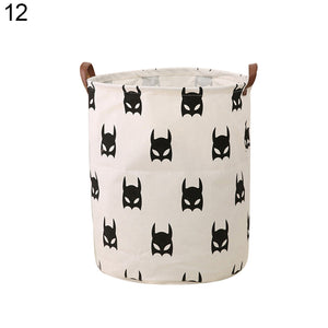 Nordic Style Baby Kids Toy Clothes Storage Canvas Laundry Basket Organizer Tool - shopbabyitems