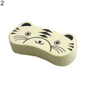 Cute Animal Multipurpose Sponge Car Dish Cleaning Kitchen Baby Washing Tool - shopbabyitems