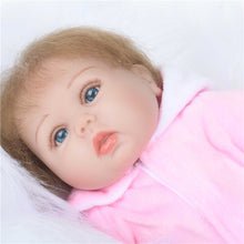 Load image into Gallery viewer, 45 cm reborn tollder doll adora Lifelike newborn Baby Bonecas Bebe kid toy girl silicone reborn baby dolls ZY-04 - shopbabyitems