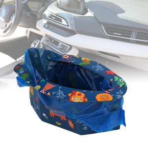 Toddler Baby Foldable Disposabale Potty Car Outdoor Emergency Mobile Toilet - shopbabyitems