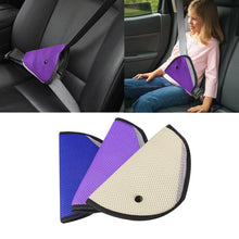 Load image into Gallery viewer, Triangle Holder Car Seat Belt Safe Protector Adjuster for Child Baby Kids Safety - shopbabyitems