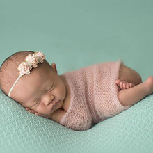 Load image into Gallery viewer, Newborn Baby Boy Girl Faux Mohair Wrap Knit Photography Prop Baby Photo Prop - shopbabyitems