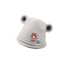 Load image into Gallery viewer, Baby Boys Girls Winter Autumn Cute Rabbit Bear Ears Knitting Wool Beanie Cap Hat - shopbabyitems