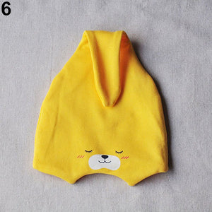 Baby Girl Boy Newborn Infant Cute Cartoon Cotton Beanie Hat Photography Prop - shopbabyitems