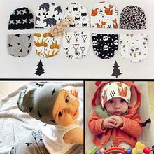Load image into Gallery viewer, Baby Toddler Kid Boy Girl Winter Warm Panda Flower Bat Knitted Hat Beanie Cap - shopbabyitems