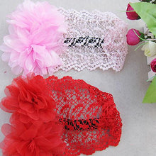 Load image into Gallery viewer, Cute Flower Headband Baby Girl Infant Elastic Hollow Princess Hairband Gift - shopbabyitems