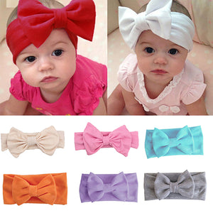 Super Cute Bowknot Baby Girl Toddler Headband Hair Band Accessory Xmas Gift - shopbabyitems