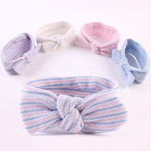 Load image into Gallery viewer, Kids Baby Girl Bowknot Striped Headband Fashion Elastic Hair Band Headwear Decor - shopbabyitems