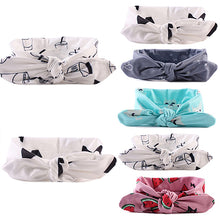 Load image into Gallery viewer, Newborn Baby Kids Girls Infant Fashion Rabbit Bow Headband Hairband Headwear - shopbabyitems