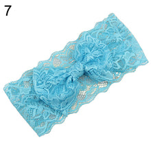 Load image into Gallery viewer, Kids Baby Girl Toddler Lace Bowknot Headband Hair Band Headwear Accessories - shopbabyitems