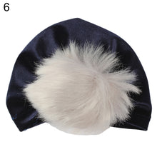 Load image into Gallery viewer, Winter Toddler Baby Boy Girl Velvet Pompom Turban Hat Photo Prop Beanie Cap - shopbabyitems