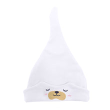 Load image into Gallery viewer, Cartoon Bear Knotted Infant Newborn Baby Boy Girl Beanie Cap Elastic Cotton Hat - shopbabyitems