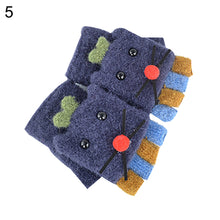 Load image into Gallery viewer, Winter Kids Baby Boys Girls Cartoon Mouse Flip Top Fingerless Gloves Mittens - shopbabyitems