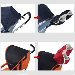 Winter Warm Waterproof Hand Muff Buggy Gloves for Baby Stroller Carriage Pram - shopbabyitems