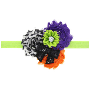 Handmade Baby Girls Sunflower Bowknot Hairband Headband Halloween Hair Decor - shopbabyitems