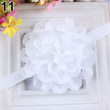 Load image into Gallery viewer, Baby Girls Kids Fashion Hollow Lace Flower Headband Headwear Hair Band Accessory - shopbabyitems