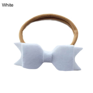 Cute Baby Newborn Toddler Girl Felt Bow Headband Hairband Hair Accessories - shopbabyitems