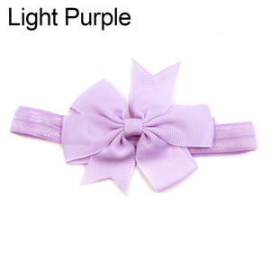 Toddler Girl Little Princess Cute Bowknot Baby Headband Hair Accessory Headwear - shopbabyitems