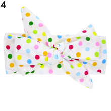 Load image into Gallery viewer, Cute DIY Headband Toddler Baby Girls Bowknot Flower Dots Star Hairband Accessory - shopbabyitems