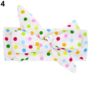 Cute DIY Headband Toddler Baby Girls Bowknot Flower Dots Star Hairband Accessory - shopbabyitems