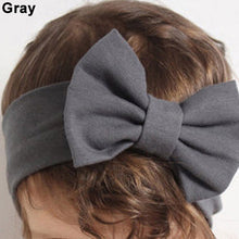 Load image into Gallery viewer, 1Pc Cute Baby Girls Big Bowknot Elastic Headband Hairband Headwear Accessory - shopbabyitems