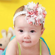 Load image into Gallery viewer, Baby Infant Kids Girl Chiffon Flower Headband Hair Band Headwear Headdress - shopbabyitems