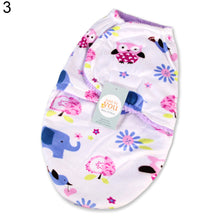 Load image into Gallery viewer, Dual-layer Newborn Baby Infant Wrap Swaddle Blanket Warm Breathable Sleeping Bag - shopbabyitems