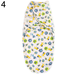 Newborn Infant Baby Absorbent Cotton Towel Swaddle Wrap Blanket Sleeping Bag - shopbabyitems