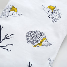 Load image into Gallery viewer, Cute Baby Unisex Hedgehog Tree Long Sleeve O Neck Romper Cotton Autumn Jumpsuit - shopbabyitems