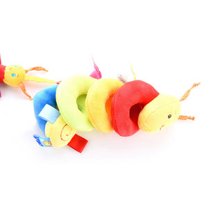 Baby Rattles Children Teether Bed Bell Playing Stroller Hanging Doll Kids Toy - shopbabyitems