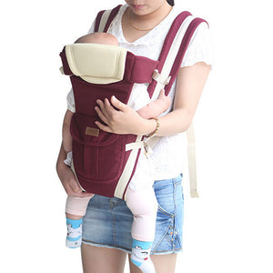 Newborn Baby Infant Adjustable Carrier Rider Front Strap Sling Backpack Holder - shopbabyitems
