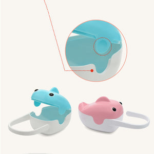 Portable Whale Design Baby Care Pacifier Holder Storage Case Infant Soother Box - shopbabyitems