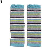 Load image into Gallery viewer, Winter Toddler Baby Boys Girls Leg Warmers Stripe Dots Print Knee Length Socks - shopbabyitems