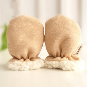 Winter Thicken Cotton Soft Warm Infant Baby Anti Scratch Gloves Newborn Mittens - shopbabyitems