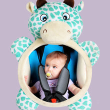 Load image into Gallery viewer, Cartoon Bear Car Back Seat Mirror Rearview Adjustable Baby Kid Safety Monitor - shopbabyitems