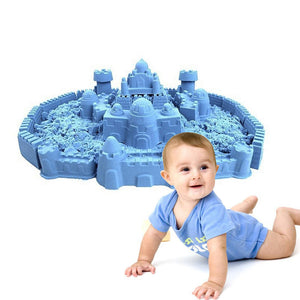 50/100/200g Magic Space Clay Sand Model Non Sticky Educational Kids Play Gift - shopbabyitems