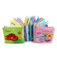 Load image into Gallery viewer, Baby Sound Fabric Cloth Books Intelligence Development Learning Educational Toys - shopbabyitems