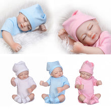 Load image into Gallery viewer, 10inch Lifelike Reborn Baby Girl Soft Vinyl Silicone Doll Kids Pretend Play Toy - shopbabyitems