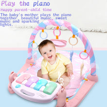 Load image into Gallery viewer, Lovely Baby Game Mat Kick Play Piano Music Light Hanging Rattle Educational Toy - shopbabyitems